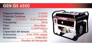 Generador GEN GS 6500 Briggs & Stratton